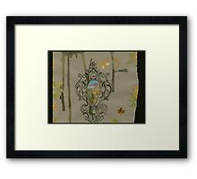 Over there.... Framed Print