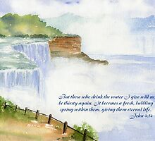 Living Water: John 4:14 by Diane Hall