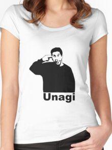 Unagi  Women's Fitted Scoop T-Shirt