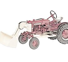 International Havester Farmall cub and loader by surgedesigns