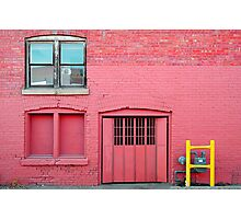Pink•Off Whyte Photographic Print
