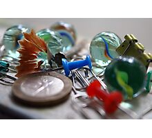 Messy Marbles Photographic Print