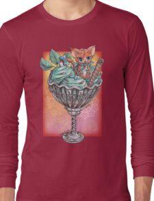The IceCream Cat Long Sleeve T-Shirt