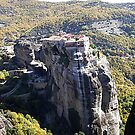 monastery-meteora in grecece by ketilela