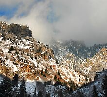 American Fork Canyon Winter by Ryan Houston