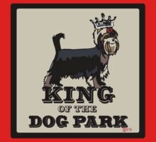 Yorkshire Terrier King of the Dog Park Kids Tee