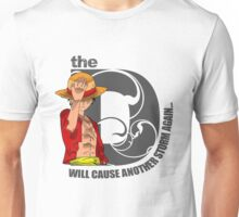 Luffy Will of D Unisex T-Shirt