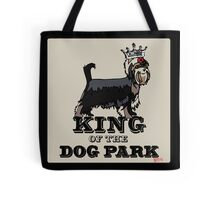 Yorkshire Terrier King of the Dog Park Tote Bag