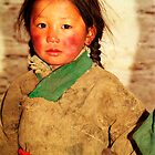 Tibetan girl by jensNP