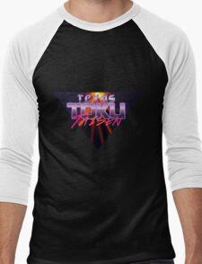 Texas Toku Taisen - Justice Prevails!  Men's Baseball ¾ T-Shirt