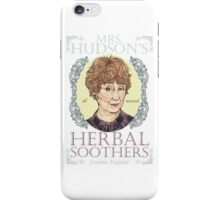 Mrs. Hudson's Herbal Soothers iPhone Case/Skin