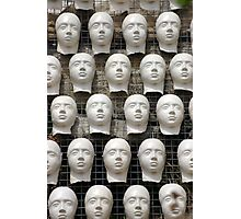 Faces Photographic Print