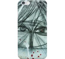 """""""The veiled woman"""" iPhone Case/Skin"""