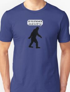 Bigfoot Costume Unisex T-Shirt