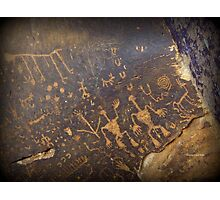 Newspaper Rock Photographic Print