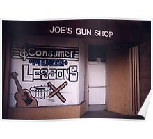 Joe's Gun Shop Poster