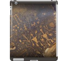 Newspaper Rock iPad Case/Skin