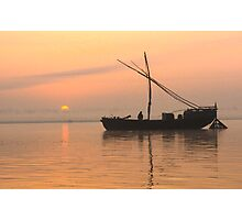 Ganges Dawn Photographic Print