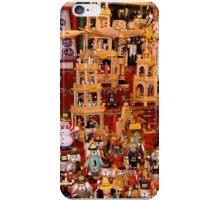 Wooden Xmas crafts iPhone Case/Skin