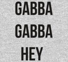 Gabba gabba hey  by 2monthsoff