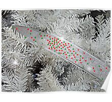 Silver Christmas Poster