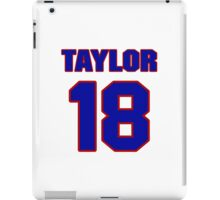 National football player Kerry Taylor jersey 18 iPad Case/Skin