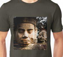 Buddhist Statues: Deva at Angkor, Cambodia Unisex T-Shirt