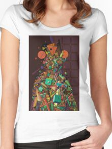 """""""Wise Man"""" 4 Women's Fitted Scoop T-Shirt"""