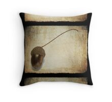 Autumn Textures Throw Pillow