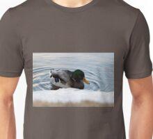 Ice shelf mallard Unisex T-Shirt