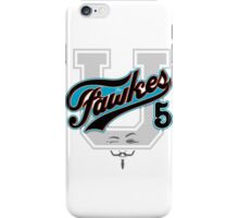 Guy Fawkes University iPhone Case/Skin