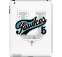 Guy Fawkes University iPad Case/Skin