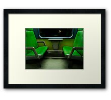 Memory does not make films, it makes photographs Framed Print