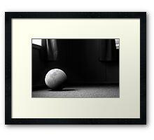 A Still Moon Framed Print