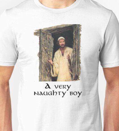 A very naughty boy Unisex T-Shirt