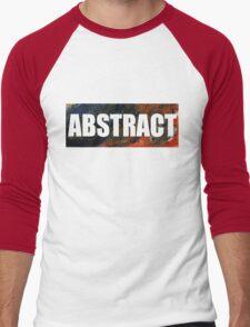 Abstract 6 Men's Baseball ¾ T-Shirt
