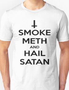 Smoke Meth & Hail Satan T-Shirt