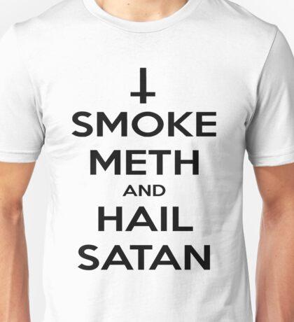 Smoke Meth & Hail Satan Unisex T-Shirt