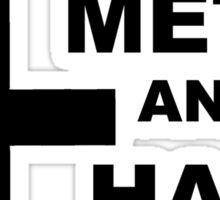 SM&HS 3.0 black Sticker