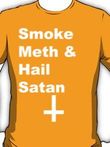 Smoke Meth & Hail Satan 2.0 T-Shirt