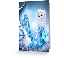 Frozen Elsa  Greeting Card