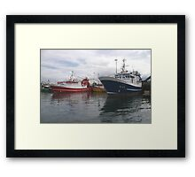 Fishing Boats in Donegal Framed Print