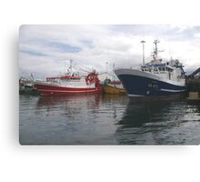 Fishing Boats in Donegal Canvas Print