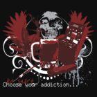 Addiction tEEshirt by Liviu Matei