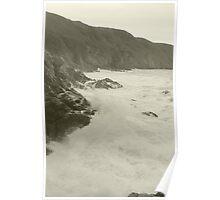 Jersey Cliffs Poster