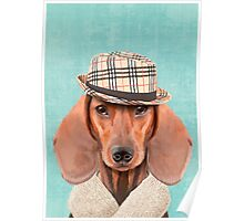 Mr Dachshund Poster