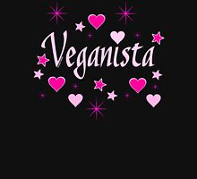 Veganista (for dark colors) Womens Fitted T-Shirt
