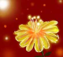 glow flower by mnathanielc