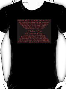 L-O-V-E T-Shirt