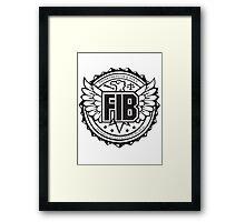 FIB Framed Print